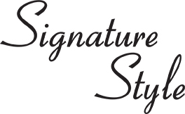 how to develop a signature style